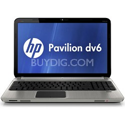 """Pavilion 15.6"""" DV6-6150US Entertainment Notebook PC - Intel Core i5-2410M Proc."""