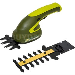 HJ602C Hedger Joe 3.6 V Li-ion 2 Tools in 1 Cordless Grass Shear/Shrubber