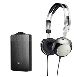 T51i Portable Tesla Hi-Fi Headphones Apple-Certified Remote & Mic w/Bundle