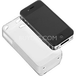 iPower Charging Case for iPhone 4 - White (IP4001W)