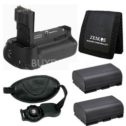 Essential Battery Grip Bundle for the EOS 7D Digital SLR Camera