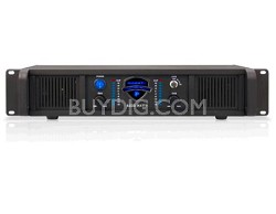 LZ6200 2U Professional 2CH Power Amplifier, 110/220V, 6200W Peak Power, Black