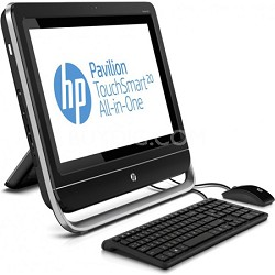 "Pavilion TouchSmart 20"" HD+ LED 20-f230 All-in-One Desktop PC - AMD E1-2500 Proc"