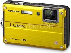 DMC-TS2Y LUMIX 14.1MP Waterproof Shockproof Freezeproof Digital Camera (Yellow)