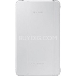 """White Book Cover for 8.4"""" Galaxy Tab Pro Tablet"""