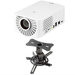 PF1500 Full HD Portable LED Smart TV Projector Theater Ceiling Mount Kit