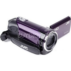 GZ-HM30US Flash Memory Camcorder - Violet