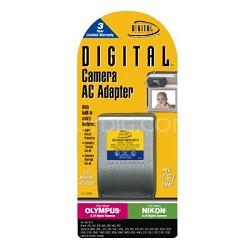 Digital Concepts AC Adapter for Olympus 6V Digital Cameras