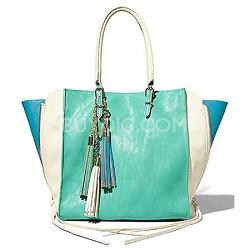 Daniela Vegan Tote Bag - Mint