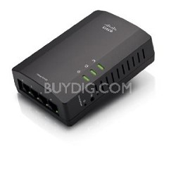 Powerline AV 4-Port Network Adapter Kit (PLSK400)