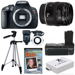 EOS Rebel T5i SLR Digital Camera Macro Photographer Bundle