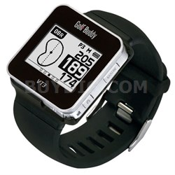 GB8-VT3-14 Smart Golf Watch, Black, Small - OPEN BOX