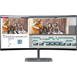 "34UC87-C IPS 21:9 34"" 3440X1440 Curved UltraWide QHD LED-Lit Monitor - OPEN BOX"