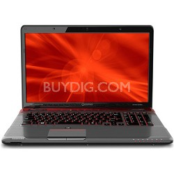 "Qosmio 17.3"" X775-Q7272 Red Horizon Notebook PC - Intel Core i7-2630QM Processor"