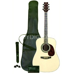 Player JBPAPK Acoustic Works Package - Natural Finish