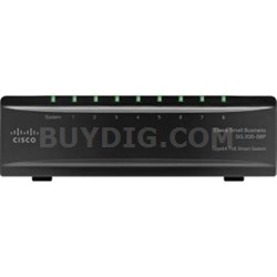 8 Port Gigabit PoE Switch