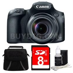 PowerShot SX60 HS Digital Camera 8GB Bundle