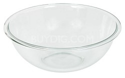 Prepware 4-Quart Rimmed Mixing Bowl, Clear