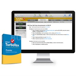 TurboTax Premier 2015 for PC/Mac - Traditional Disc