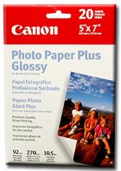 "Pro Photo Paper Borderless 5"" X 7"" - 20 Sheets"