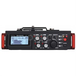 6-Track Field Recorder for DSLR with SMPTE Timecode - DR-701D