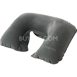 Deluxe Double Inflatable Neck Pillow with Travel Pouch