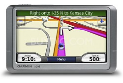 nuvi 260W Portable GPS navigation w/ Text-to-Speech & 4.3 Wide LCD