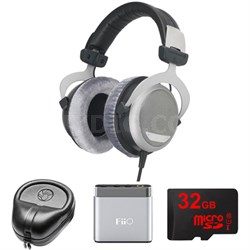 DT 880 Premium Headphones 600 OHM - 491322 w/ FiiO Amp. Bundle