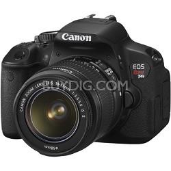EOS Rebel T4i 18.0 MP CMOS Digital SLR with 18-55mm EF-S IS II Lens