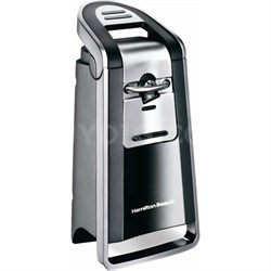Smooth Touch Can Opener, Black and Chrome, Factory Refurbished