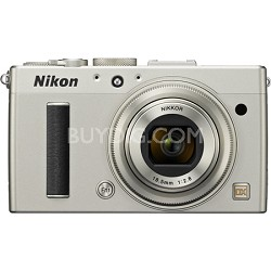 """COOLPIX A 16.2MP 3.0"""" LCD Silver Digital Camera with 1080p HD Video"""