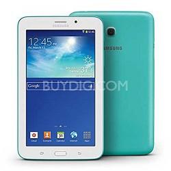 "Galaxy Tab 3 Lite 7.0"" Blue/Green 8GB Tablet - 1.2 GHz Dual Core Processor"