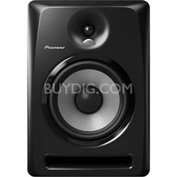 "Black Pioneer S-DJ80X 8"" Active DJ Speaker Reference Monitor"