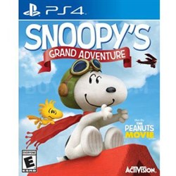 Peanuts Movie Snoopys GA PS4
