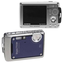Stylus 770 SW (Royal Blue) 7.1 MP Digital Camera with 3x Opitical Zoom