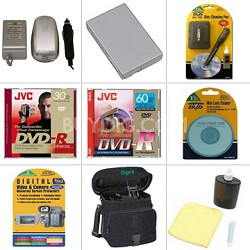 Bargain Accessory Bundle for DC-100, 210, 220, 230 DVD Camcorder