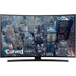 UN55JU6700 - 55-Inch Curved 4K Ultra HD Smart LED HDTV - REFURBISHED O/B