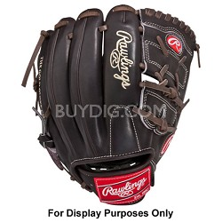 "Pro Preferred Mocha 11.75"" Infield Solid Web Baseball Glove (Left Hand Throw)"