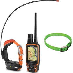 Astro 320 Handheld and T 5 mini Dog Training Device - Dog Collar Green Bundle