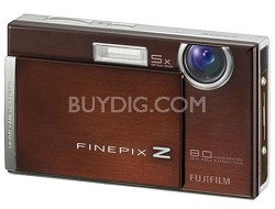 FinePix Z100fd 8PM Digital Camera (Cappuccino Brown)