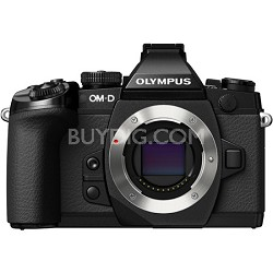 OM-D E-M1 Compact System Camera with 16MP and 3-Inch LCD - Body Only