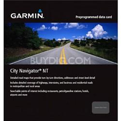 City Navigator Israel NT, microSD/SD card