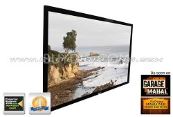 """R150WH1 ezFrame Fixed Projection Screen (150"""" 16:9 AR)(CineWhite)"""