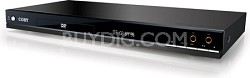 Super-Slim 5.1-Channel DVD Player with Karaoke Function