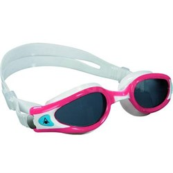 Aqua Sphere Kaiman EXO Lady Swim Goggles w/ Clear Lens and Coral Frame - 175700