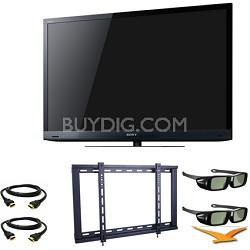 KDL46HX729 46 inch Motion Flow XR 480 Wifi 3D LED Bundle