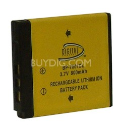 800mAh KLIC-7001 Lithium Replacement Battery for Kodak V and M-series Cameras