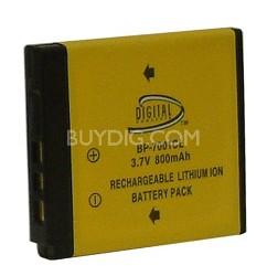 800mAh KLIC-7001 Lithium Replacement Battery for Kodak V and M-series Cameras