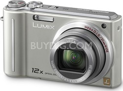 DMC-ZS1S LUMIX 10.1 MP Compact Digital Camera with 12x Super Zoom (Silver)
