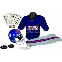NFL Deluxe Team Medium Uniform Set - New York Giants, Medium